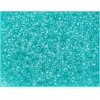 Seedbead 10/0 Crystal Teal Green Loose Solgel